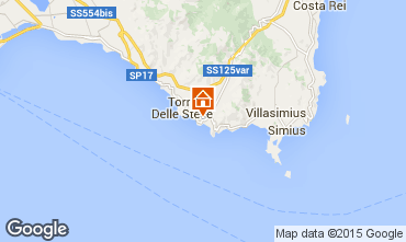 Mappa Villasimius Villa  97576