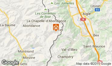 Mappa Ch�tel Chalet 800