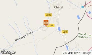 Mappa Châtel Chalet 800