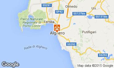 Mappa Alghero Appartamento 98249