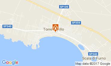 Mappa Porto Cesareo Casa 102734