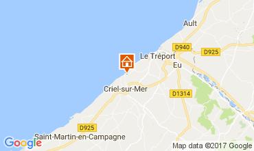 Mappa Le Tréport Casa 112767