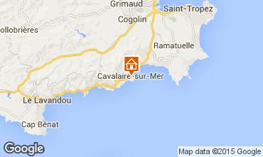 Mappa Cavalaire-sur-Mer Appartamento 76489