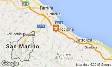 Mappa Riccione Bungalow 85726