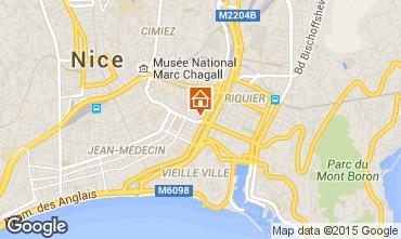 Mappa Nizza Appartamento 81029