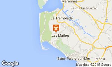 Mappa La Palmyre Casa mobile 81106