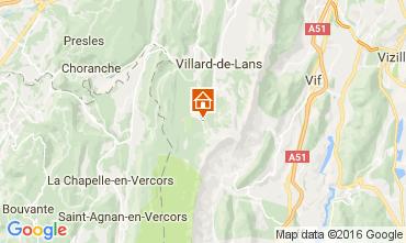 Mappa Villard de Lans - Corrençon en Vercors Appartamento 3643