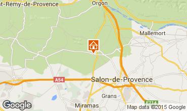 Mappa Eyguières Villa  92658