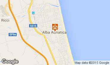 Mappa Alba Adriatica Appartamento 40987