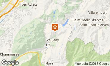 Mappa Les Sept Laux Appartamento 67538