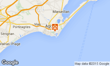 Mappa Cap d'Agde Appartamento 85152