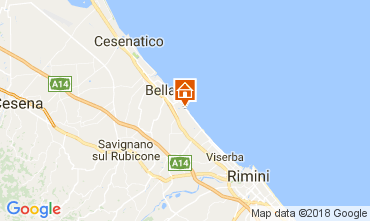Mappa Bellaria Igea Marina Appartamento 113131