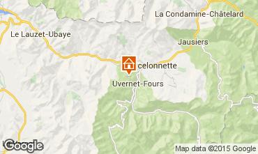 Mappa Pra Loup Chalet 2335