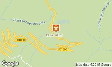 Mappa La Rosière 1850 Appartamento 2466