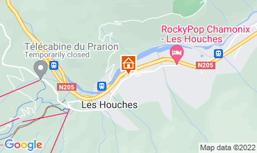 Mappa Les Houches Monolocale 1409