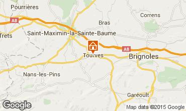 Mappa Saint Maximin la Sainte Baume Casa 92354