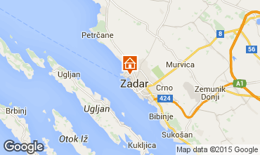Mappa Zara (Zadar) Appartamento 24286