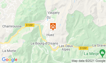 Mappa Alpe d'Huez Monolocale 80613