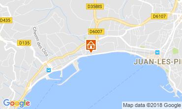 Mappa Juan les Pins Appartamento 115924
