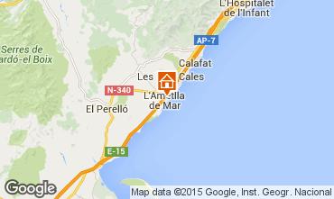 Mappa La Ametlla de Mar Appartamento 64059