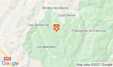 Mappa Méribel Appartamento 28528