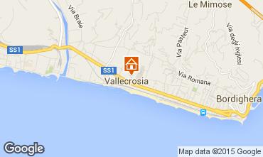 Mappa Vallecrosia Appartamento 62188