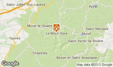 Mappa Le Mont Dore Appartamento 76136
