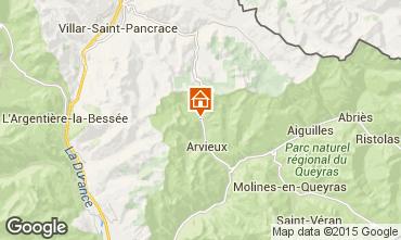 Mappa Arvieux en Queyras Appartamento 538