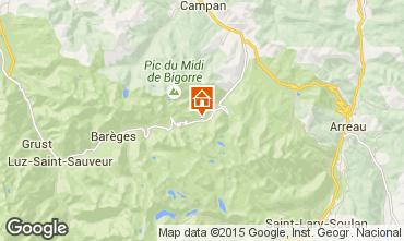 Mappa La Mongie Appartamento 78967
