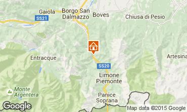 Mappa Limone Piemonte Appartamento 101286