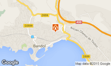 Mappa Bandol Monolocale 32628