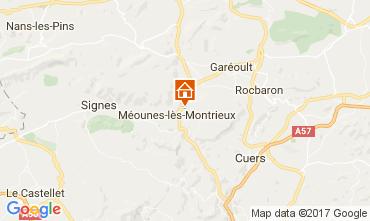 Mappa M�ounes-l�s-Montrieux Villa  82417
