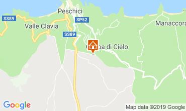 Mappa Peschici Appartamento 118868
