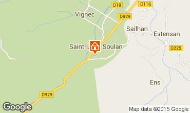 Mappa Saint Lary Soulan Appartamento 4439
