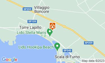 Mappa Torre Lapillo Appartamento 116224