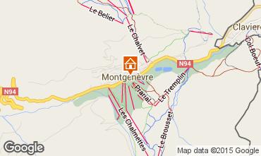 Mappa Monginevro Casa 16964