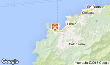 Mappa Calvi Villa  28209
