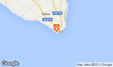 Mappa Santa Maria di Leuca Appartamento 95923