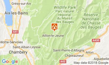 Mappa Aix Les Bains Agriturismo 115914