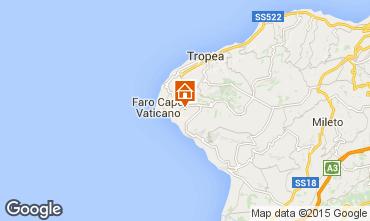 Mappa Tropea Appartamento 47826