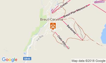 Mappa Cervinia (Breuil) Monolocale 54302