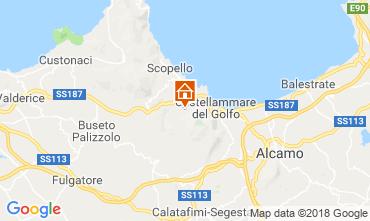 Mappa Scopello Villa  117081