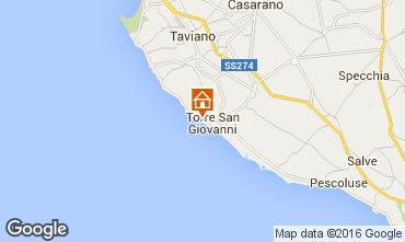 Mappa Ugento - Torre San Giovanni Appartamento 84985