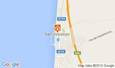 Mappa San Vincenzo Appartamento 42077