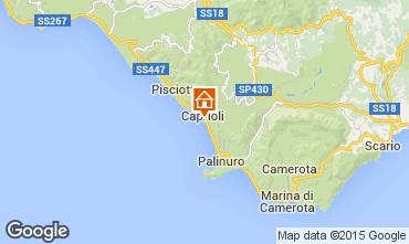 Mappa Palinuro Appartamento 35410