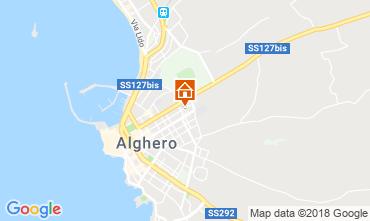 Mappa Alghero Appartamento 60593