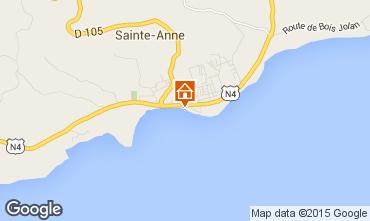 Mappa Sainte Anne (Guadalupa) Appartamento 73786