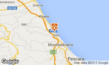 Mappa Silvi Marina Appartamento 77104
