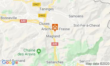Mappa Les Carroz d'Araches Monolocale 60427