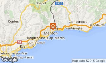 Mappa Menton (Mentone) Monolocale 75534